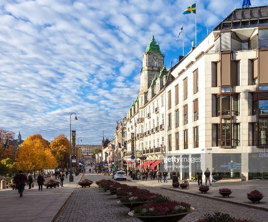 Dag 3 Oslo Karl Johan Gate