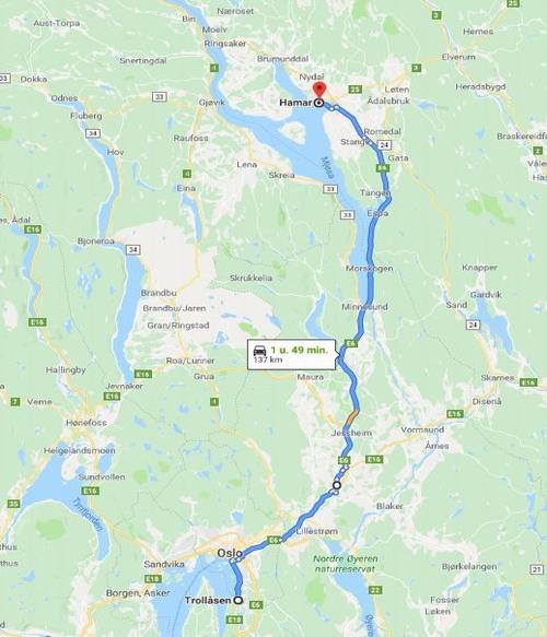 Dag 3 Trolläsen-Hamar