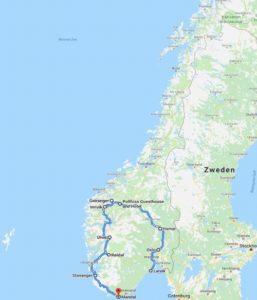 Overzicht Noorwegen
